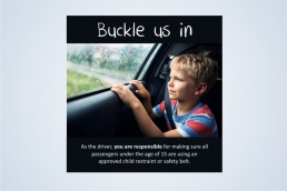Buckle in Road Safety campaign by JuryDesign