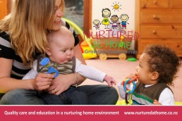 Branding for childcare_Nurtured at Home.