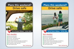 Drive safe road safety campaign_Jury Design