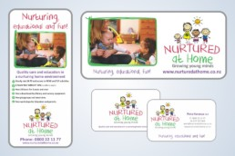 Design and print for Nurtured at Home