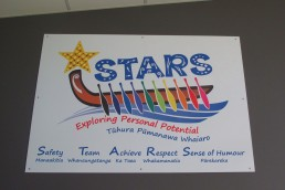 Stars logo Tauranga Intermediate