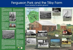 Fergusson Park Interpretation Panel